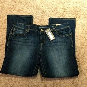 Maurices Jeans size 22 Ellie dark wash